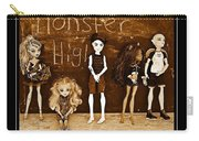 Sarah's Monster High Collection Sepia Carry-all Pouch
