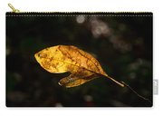 Sassafras Leaf Glowing Carry-all Pouch