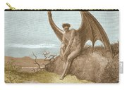 Satan Finding Serpent, By Dore Carry-all Pouch
