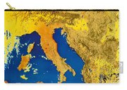 Satellite Image Of Italy Carry-all Pouch