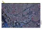 Satellite View Of Buffalo, New York Carry-all Pouch