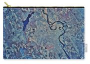 Satellite View Of Concord, New Carry-all Pouch by Stocktrek Images