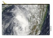 Satellite View Of Cyclone Giovanna Carry-all Pouch