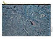 Satellite View Of Newark, New Jersey Carry-all Pouch