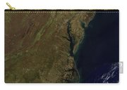 Satellite View Of The Mid-atlantic Carry-all Pouch