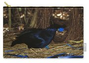 Satin Bowerbird Ptilonorhynchus Violaceus Carry-all Pouch