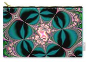 Satin Flowers And Butterflies Fractal 122 Carry-all Pouch
