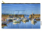 Saundersfoot Boats Painted Carry-all Pouch