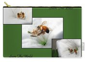 Save The Bees Save The World Carry-all Pouch