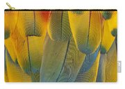 Scarlet Macaw Ara Macao Close-up Carry-all Pouch