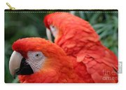 Scarlet Macaws Carry-all Pouch