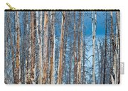 Scarred Pines Yellowstone Carry-all Pouch by Steve Gadomski