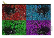 Scary Spider Serigraph Carry-all Pouch by Al Powell Photography USA