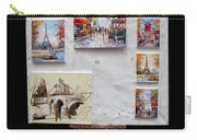 Scenes Of Paris For Sale Carry-all Pouch