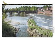 Scenic Landscape With Old Dee Bridge Carry-all Pouch