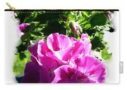 Scented Geraniums Carry-all Pouch