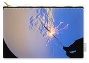 Schlieren Image Of A Sparkler Carry-all Pouch