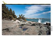Schoodic Waves 4645 Carry-all Pouch