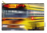 School Bus Rush Carry-all Pouch