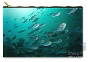 School Of Yellow Masked Surgeonfish Carry-all Pouch