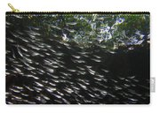 Schooling Fish Under Red Mangrove  Carry-all Pouch