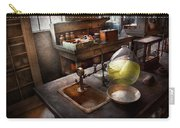 Science - Chemist - Scientific Discoveries  Carry-all Pouch by Mike Savad