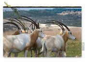 Scimitar-horned Oryx Carry-all Pouch