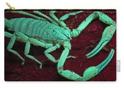 Scorpion Glows In Uv Light Costa Rica Carry-all Pouch