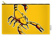 Scorpion Graphic  Carry-all Pouch by Pixel Chimp