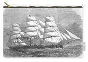 Screw Steamship, 1864 Carry-all Pouch
