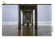 Scripps Pier Surfer 3 Carry-all Pouch