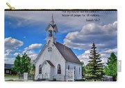 Scriptue And Picture Isaiah 56 7 Carry-all Pouch