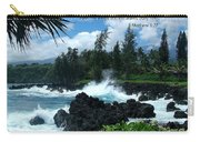 Scripture And Picture Matthew 8 27 Carry-all Pouch