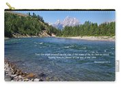 Scripture And Picture Revelation 22 1 Carry-all Pouch