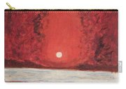 Sea And Moon Carry-all Pouch