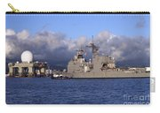 Sea Based X-band Radar Dome Modeled Carry-all Pouch