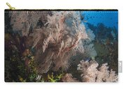 Sea Fan On Soft Coral In Raja Ampat Carry-all Pouch