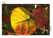 Sea Grape Leaves Carry-all Pouch