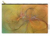 Sea Grass Sunset Carry-all Pouch by Betsy Knapp