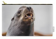 Sea Lion And Yellow Fangs Carry-all Pouch