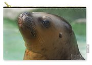 Sea Lion Up Close. Carry-all Pouch