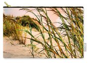Sea Oats And Dunes Carry-all Pouch by Kristin Elmquist