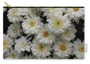 Sea Of White Flowers Carry-all Pouch