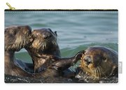 Sea Otter Enhydra Lutris Bachelor Male Carry-all Pouch
