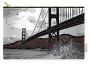 Sea Spray Under The Golden Gate Bridge Carry-all Pouch