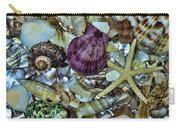 Sea Treasure - Square Format Carry-all Pouch