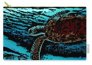Sea Turtle Swimming Carry-all Pouch