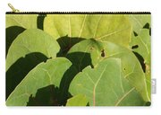 Seagrape Leaf Layer Carry-all Pouch
