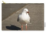 Seagull In The Summer Sun Carry-all Pouch