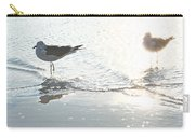 Seagulls In A Shimmer Carry-all Pouch